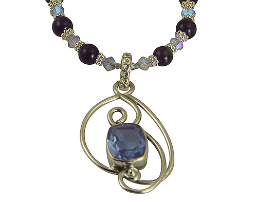 alexandrite gemstone necklace