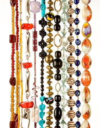 history of beads in beaded jewelry