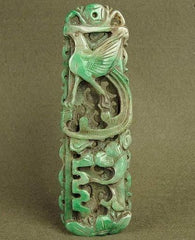 jade carved statue