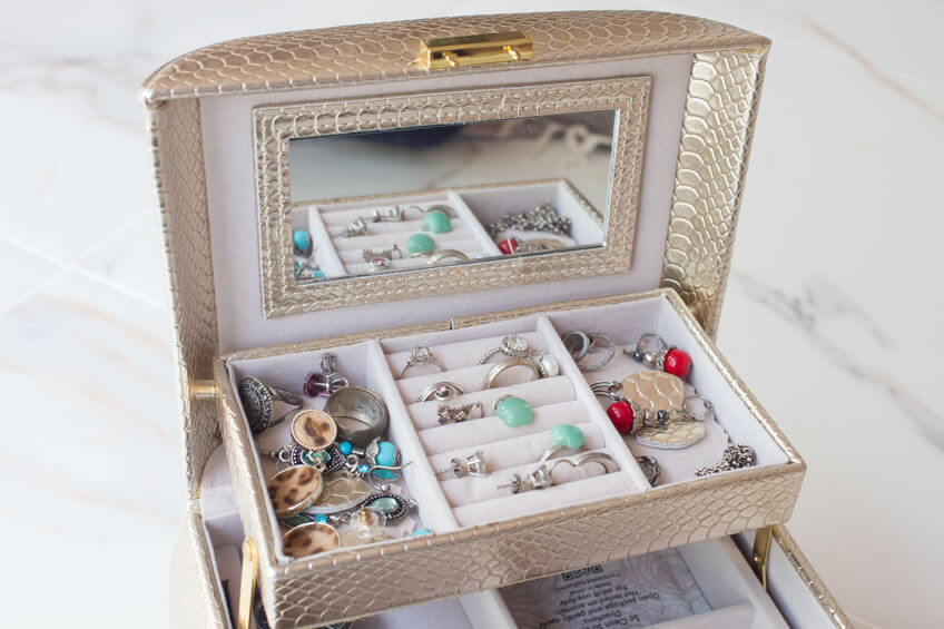 jewelry box storage