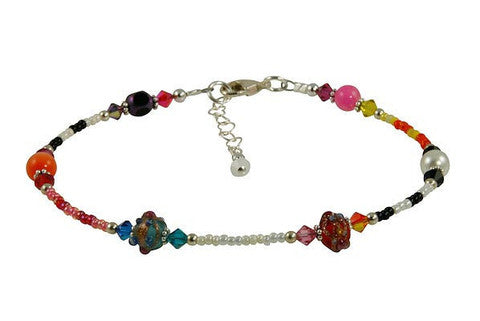 all jazzed up beaded anklet