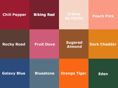 pantone - fal color trends