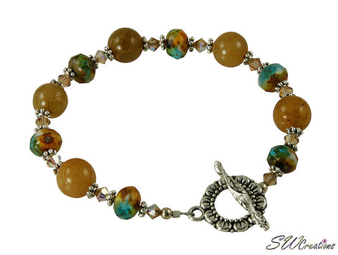 topaz beaded jewelry