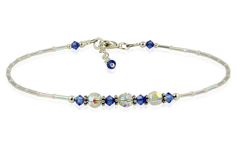 something blue anklet