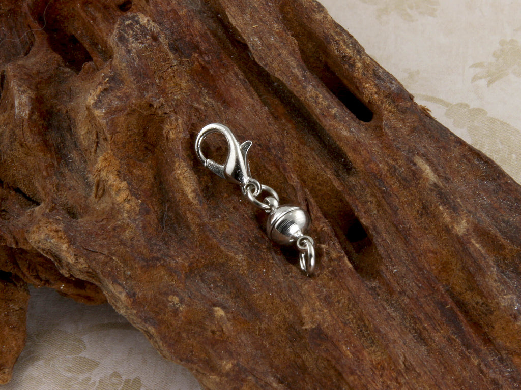 silver-plate magnet jewelry clasp extender