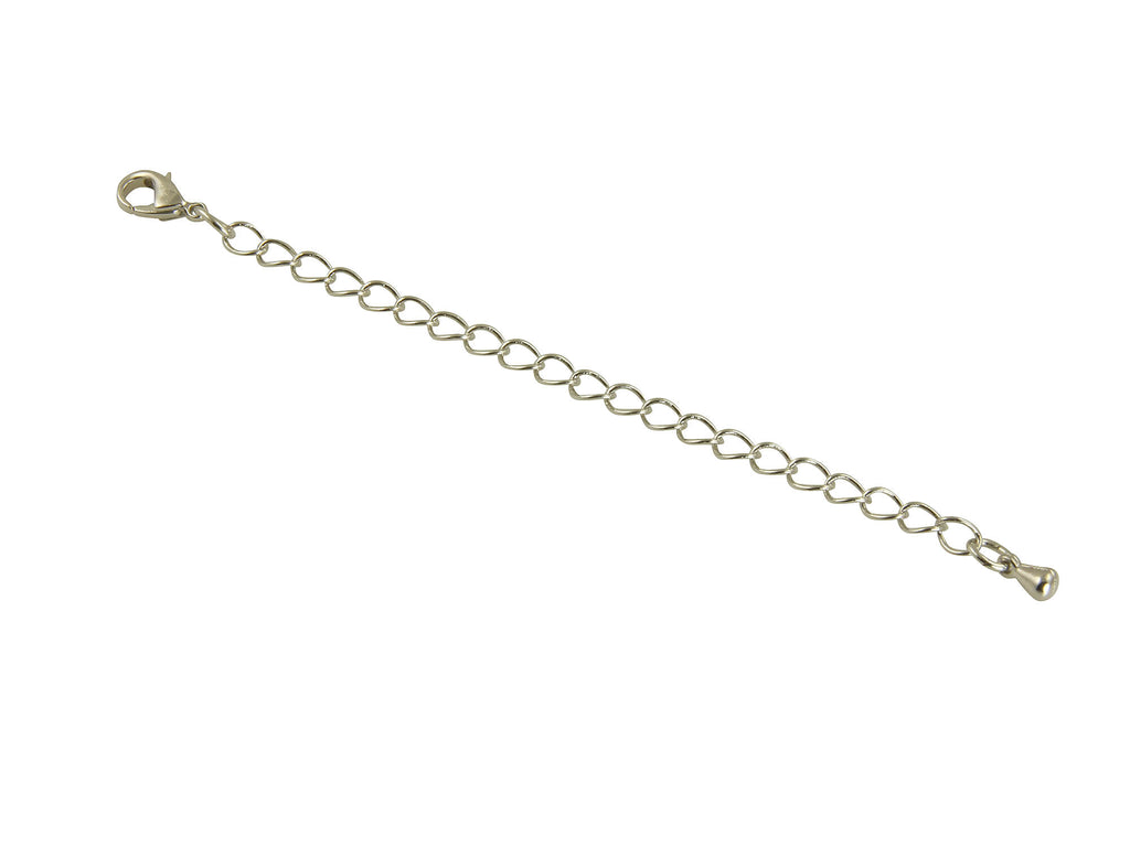 Designer Silver Necklace Jewelry Extenders
