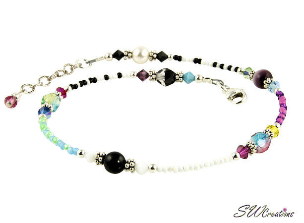 All Jazzed Up Elegance Beaded Anklet - SWCreations