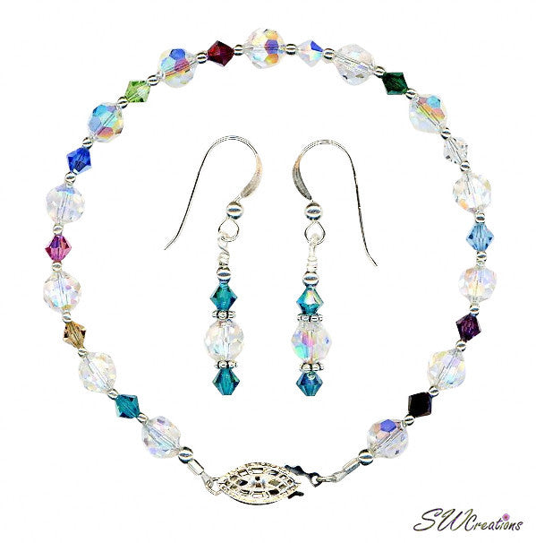 Small Generation Birthstone Dazzling Crystal Set - SWCreations