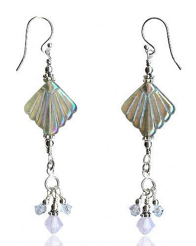 Akomeogi Rosaline Crystal Bead Earrings - SWCreations