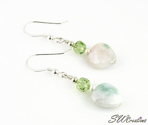 Jade Gemstone Creations Crystal Earrings - SWCreations