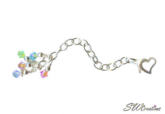 Dazzling Spring Heart Jewelry Necklace Extenders - SWCreations