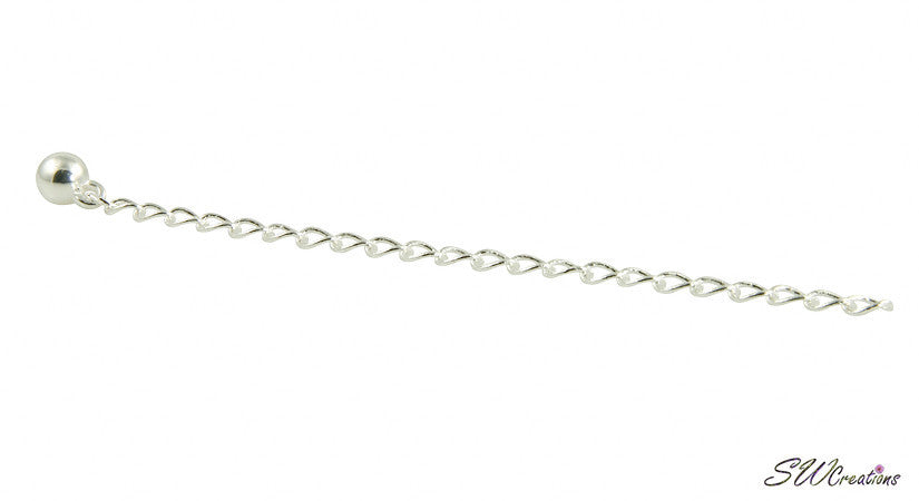 Allusive Silver Plated Necklace Jewelry Extender - SWCreations