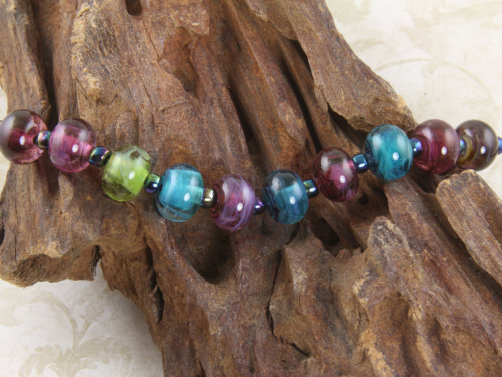 Calypso Multicolor Mini Lampwork Beads Set SRA