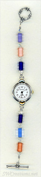 Cane Crystal Bali Beaded Watch - SWCreations