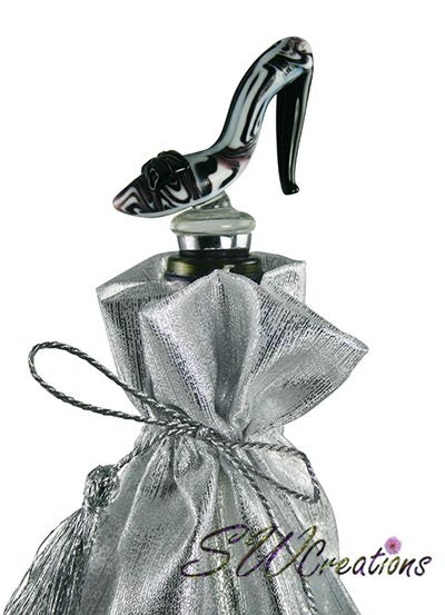 Classy High Heel Glass Wine Stopper - SWCreations  - 1