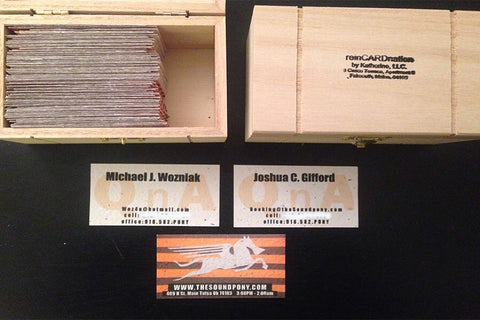 soundpony seed paper business cards