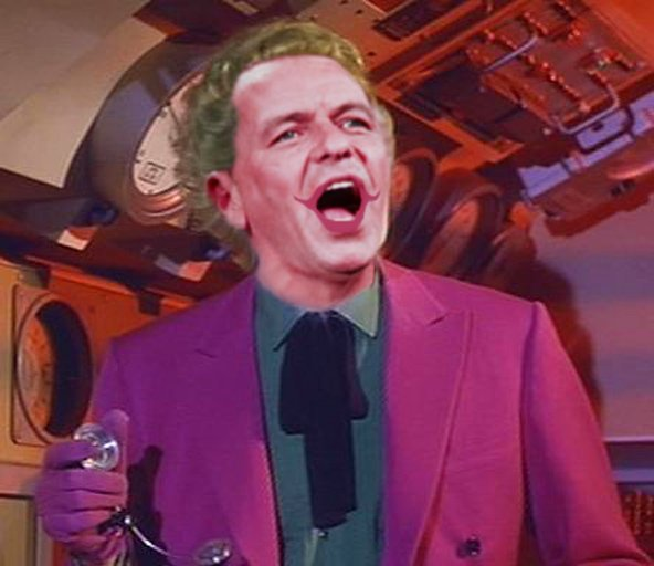 Frank Sinatra as the Joker