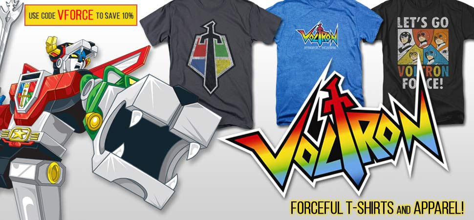Voltron TShirts and Apparel
