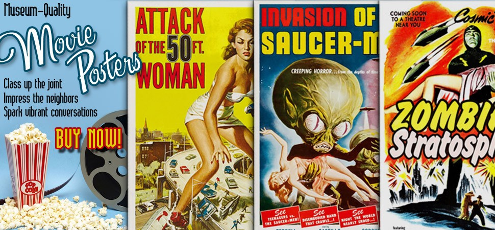 B-Movie Posters