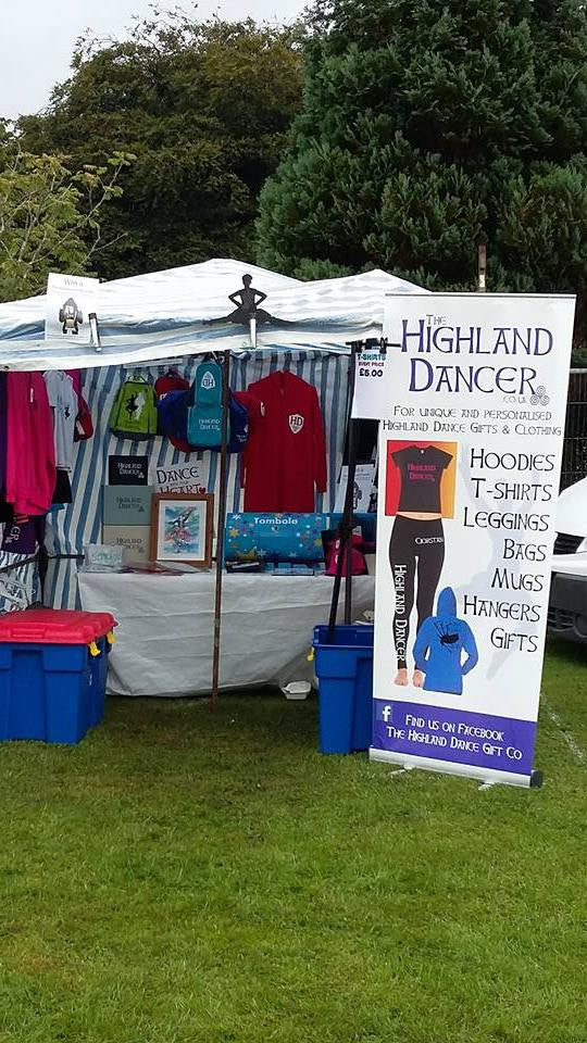 The Highland Dancer stall at The Bute Highland Games 2016