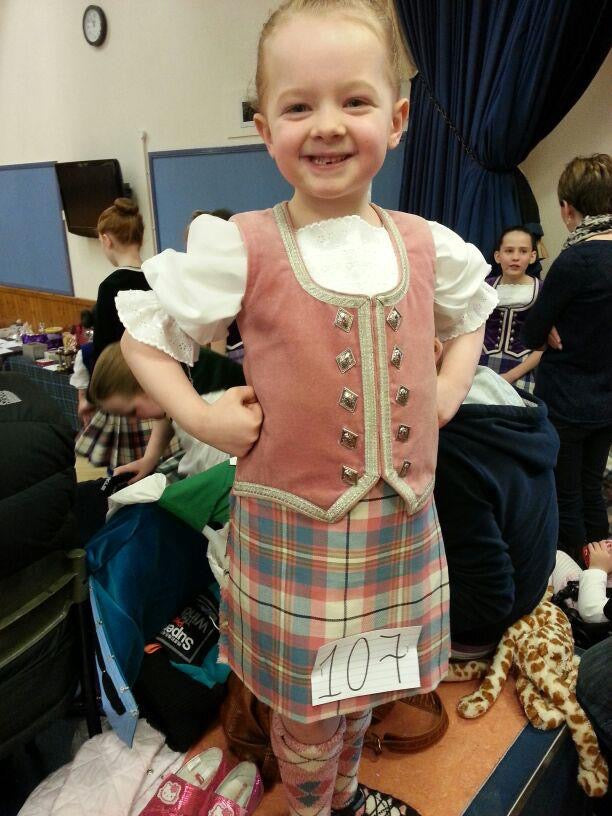 #Thehighlanddancer Summer's April blog