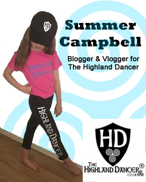 Introducing our 1st Blogger for The Highland Dancer by Summer Campbell age 9