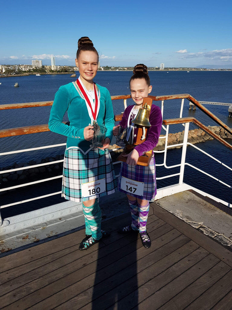 Catriona & Eilidh Gammons 1st Blog for The Highland Dancer