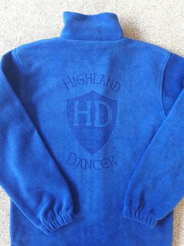 HD Fleece - Design #1 HD Shield on back - Adult