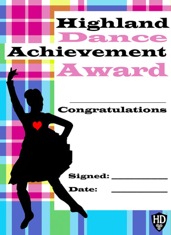 Award Certificate (FREE Digital Down Load) #1