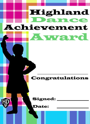 Award Certificate (FREE Digital Down Load) #2