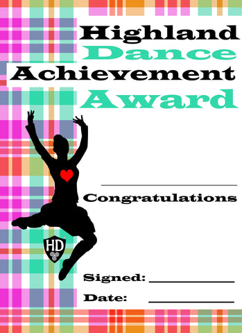 Award Certificate (FREE Digital Down Load) #5