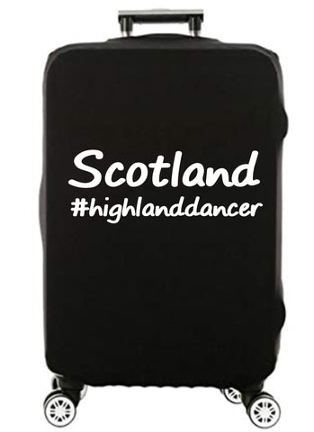 Scotland #HighlandDancer - Suitcase Cover