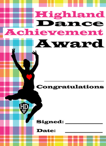 Award Certificate (FREE Digital Down Load) #6