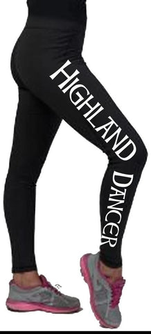 Long Dance Leggings - Adults