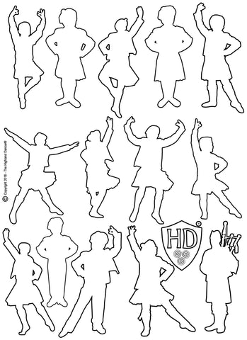 Colour In Sheet #1d - (FREE Digital Download)