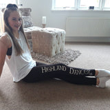 Long Dance Leggings - Girls