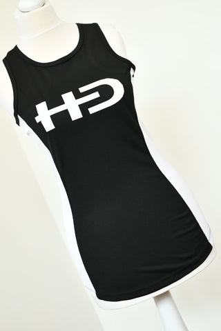 New HD Logo Contrast Vest Top - Ladies (Polyester)