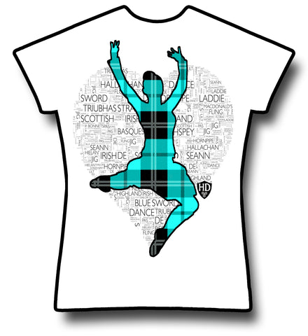 Light Blue Tartan Dancer