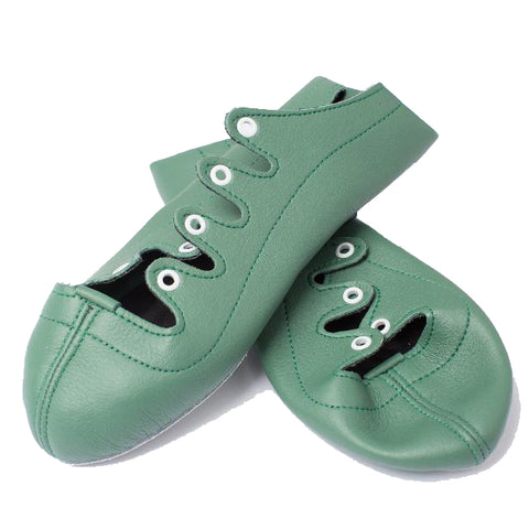 Colourz - Green - Billie Forsyth Dancing Shoes