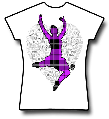Purple Tartan Dancer
