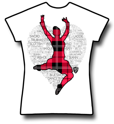 Red Tartan Dancer