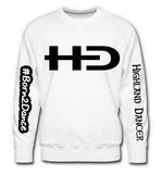New HD Logo Sweater Blinged up with lots of HD logos