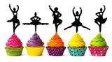 Mini Cup Cake Toppers #1 (Set of 5)