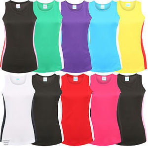 HD Contrast Vest Top - Ladies (Polyester)