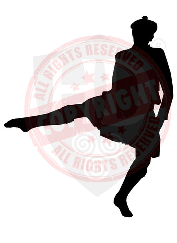 Male Dancer Decal #6