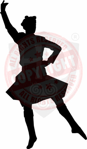 Male Dancer Decal #5