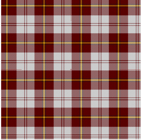 Clan Cunningham Dress Burgundy Tartan Blanket - Various Designs