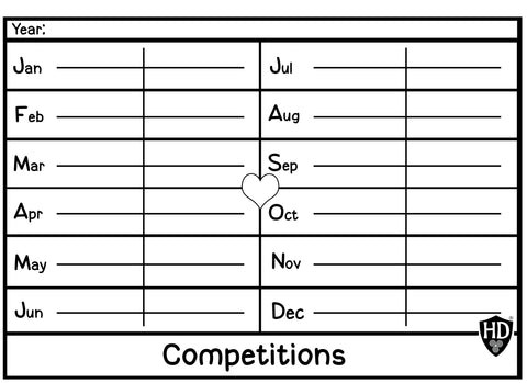 Competitions (Free Digital Download)
