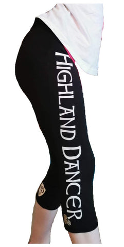 Highland Dancer 3/4 Leggings Ladies