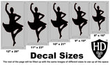 Girl Highland Dancer Decal #12
